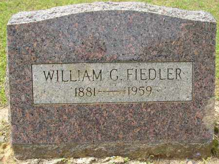 FIEDLER, WILLIAM G. - Lonoke County, Arkansas | WILLIAM G. FIEDLER - Arkansas Gravestone Photos