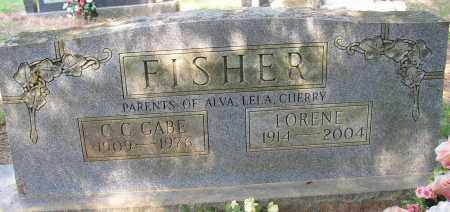FISHER, LORENE - Lonoke County, Arkansas | LORENE FISHER - Arkansas Gravestone Photos