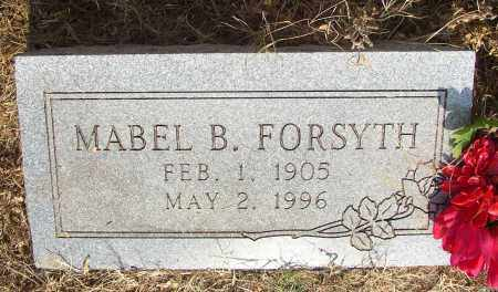 FORSYTH, MABEL B. - Lonoke County, Arkansas | MABEL B. FORSYTH - Arkansas Gravestone Photos