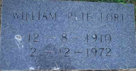 "FORT, WILLIAM  ""PETE"" - Lonoke County, Arkansas 