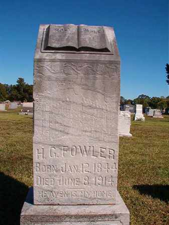 FOWLER, H G - Lonoke County, Arkansas | H G FOWLER - Arkansas Gravestone Photos