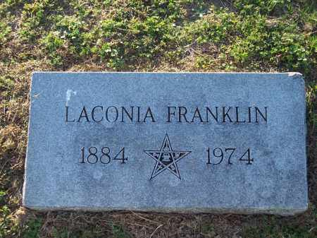 FRANKLIN, LACONIA - Lonoke County, Arkansas | LACONIA FRANKLIN - Arkansas Gravestone Photos