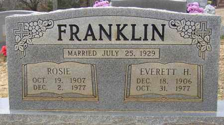 FRANKLIN (VETERAN WWII), EVERETT H. - Lonoke County, Arkansas | EVERETT H. FRANKLIN (VETERAN WWII) - Arkansas Gravestone Photos