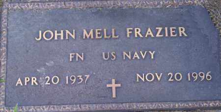 FRAZIER  (VETERAN), JOHN MELL - Lonoke County, Arkansas | JOHN MELL FRAZIER  (VETERAN) - Arkansas Gravestone Photos