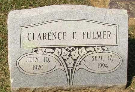 FULMER, CLARENCE E. - Lonoke County, Arkansas | CLARENCE E. FULMER - Arkansas Gravestone Photos