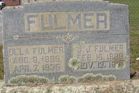FULMER, J. J. - Lonoke County, Arkansas | J. J. FULMER - Arkansas Gravestone Photos
