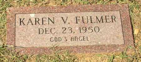 FULMER, KAREN V. - Lonoke County, Arkansas | KAREN V. FULMER - Arkansas Gravestone Photos