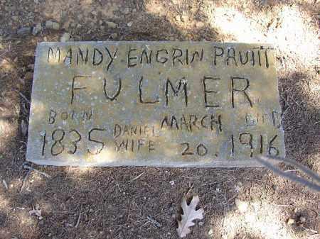 PRUITT FULMER, MANDY ENGRIN - Lonoke County, Arkansas | MANDY ENGRIN PRUITT FULMER - Arkansas Gravestone Photos