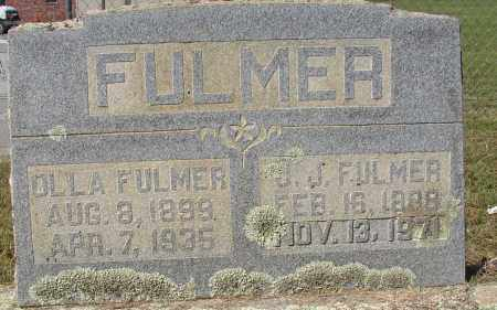 FULMER, OLLA - Lonoke County, Arkansas | OLLA FULMER - Arkansas Gravestone Photos
