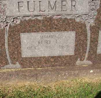 FULMER, RUBY L. - Lonoke County, Arkansas | RUBY L. FULMER - Arkansas Gravestone Photos