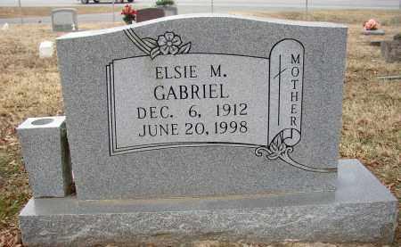 GABRIEL, ELSIE M. - Lonoke County, Arkansas | ELSIE M. GABRIEL - Arkansas Gravestone Photos