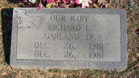 GARLAND, RICHARD L. - Lonoke County, Arkansas | RICHARD L. GARLAND - Arkansas Gravestone Photos