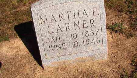 GARNER, MARTHA E - Lonoke County, Arkansas | MARTHA E GARNER - Arkansas Gravestone Photos