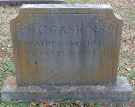 GASKINS (VETERAN CSA), G C - Lonoke County, Arkansas | G C GASKINS (VETERAN CSA) - Arkansas Gravestone Photos