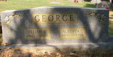 GEORGE, ELIJAH E. - Lonoke County, Arkansas | ELIJAH E. GEORGE - Arkansas Gravestone Photos