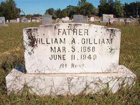 GILLIAM, WILLIAM A - Lonoke County, Arkansas | WILLIAM A GILLIAM - Arkansas Gravestone Photos