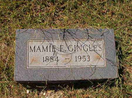 GINGLES, MAMIE E - Lonoke County, Arkansas | MAMIE E GINGLES - Arkansas Gravestone Photos