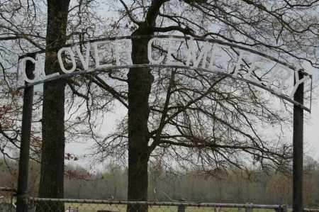 *GLOVER CEMETERY ENTRANCE,  - Lonoke County, Arkansas |  *GLOVER CEMETERY ENTRANCE - Arkansas Gravestone Photos