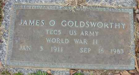 GOLDSWORTHY (VETERAN WWII), JAMES O - Lonoke County, Arkansas | JAMES O GOLDSWORTHY (VETERAN WWII) - Arkansas Gravestone Photos