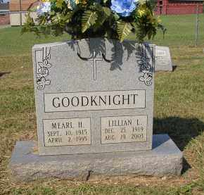 GOODKNIGHT, LILLIAN L. - Lonoke County, Arkansas | LILLIAN L. GOODKNIGHT - Arkansas Gravestone Photos