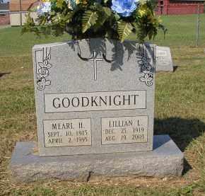 GOODKNIGHT, MEARL H. - Lonoke County, Arkansas | MEARL H. GOODKNIGHT - Arkansas Gravestone Photos