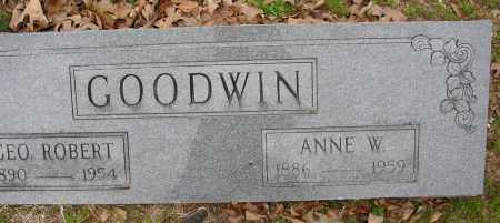 GOODWIN, ANNE W. - Lonoke County, Arkansas | ANNE W. GOODWIN - Arkansas Gravestone Photos
