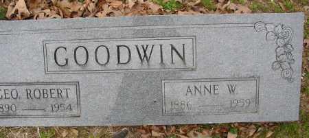 GOODWIN, ANNE W. - Lonoke County, Arkansas | ANNE W. GOODWIN - Arkansas Gravestone Photos