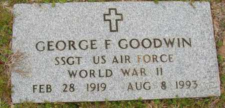 GOODWIN (VETERAN WWII), GEORGE F - Lonoke County, Arkansas | GEORGE F GOODWIN (VETERAN WWII) - Arkansas Gravestone Photos