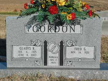GORDON, FRED GROVER - Lonoke County, Arkansas | FRED GROVER GORDON - Arkansas Gravestone Photos