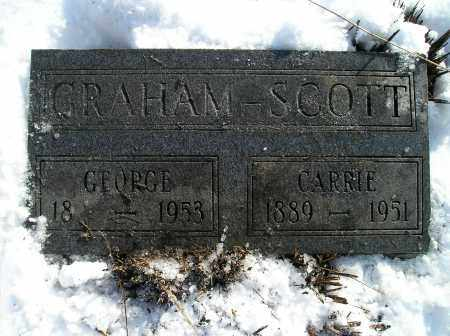 SCOTT, CARRIE - Lonoke County, Arkansas | CARRIE SCOTT - Arkansas Gravestone Photos