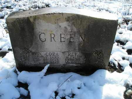 GREEN, CORA - Lonoke County, Arkansas | CORA GREEN - Arkansas Gravestone Photos