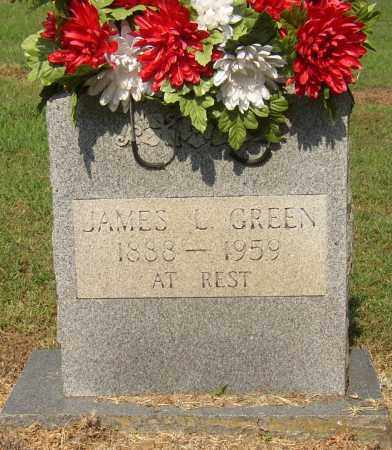 GREEN (VETERAN WWI), JAMES LESLIE - Lonoke County, Arkansas | JAMES LESLIE GREEN (VETERAN WWI) - Arkansas Gravestone Photos