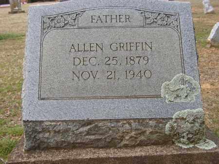 GRIFFIN, ALLEN - Lonoke County, Arkansas | ALLEN GRIFFIN - Arkansas Gravestone Photos