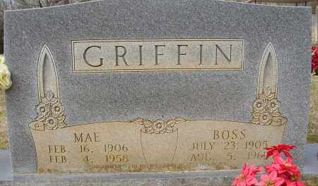 GRIFFIN, MAE - Lonoke County, Arkansas | MAE GRIFFIN - Arkansas Gravestone Photos