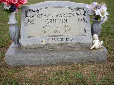 GRIFFIN, OTHAL WARREN - Lonoke County, Arkansas | OTHAL WARREN GRIFFIN - Arkansas Gravestone Photos