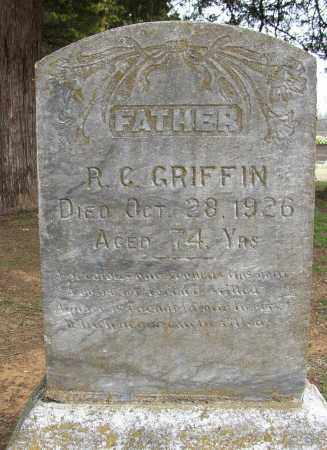 GRIFFIN, R. C. - Lonoke County, Arkansas | R. C. GRIFFIN - Arkansas Gravestone Photos