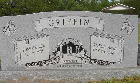 GRIFFIN, TOMMIE LEE - Lonoke County, Arkansas | TOMMIE LEE GRIFFIN - Arkansas Gravestone Photos