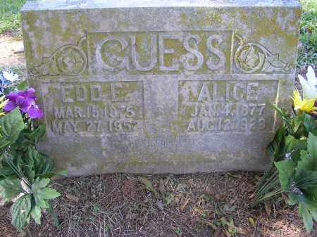 GUESS, EDD E. - Lonoke County, Arkansas | EDD E. GUESS - Arkansas Gravestone Photos