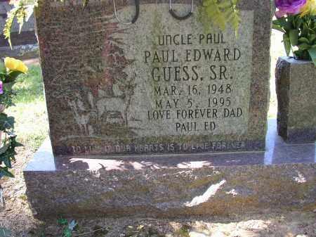 GUESS, PAUL EDWARD SR. - Lonoke County, Arkansas   PAUL EDWARD SR. GUESS - Arkansas Gravestone Photos