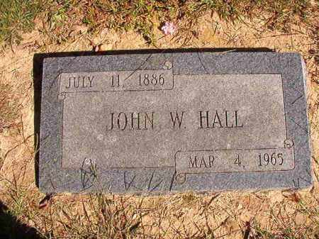 HALL, JOHN W - Lonoke County, Arkansas | JOHN W HALL - Arkansas Gravestone Photos