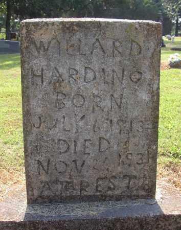 HARDING, WILLARD - Lonoke County, Arkansas | WILLARD HARDING - Arkansas Gravestone Photos