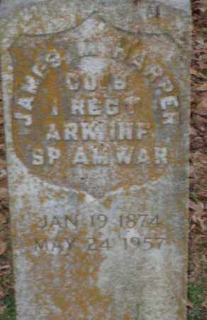 HARPER (VETERAN SAW), JAMES M - Lonoke County, Arkansas   JAMES M HARPER (VETERAN SAW) - Arkansas Gravestone Photos