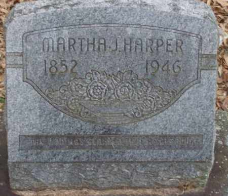 HARPER, MARTHA J - Lonoke County, Arkansas | MARTHA J HARPER - Arkansas Gravestone Photos