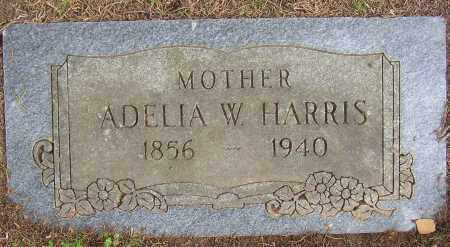 HARRIS, ADELIA W. - Lonoke County, Arkansas | ADELIA W. HARRIS - Arkansas Gravestone Photos