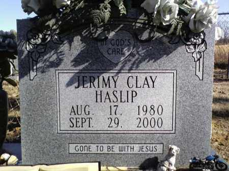 HASLIP, JERIMY CLAY - Lonoke County, Arkansas | JERIMY CLAY HASLIP - Arkansas Gravestone Photos