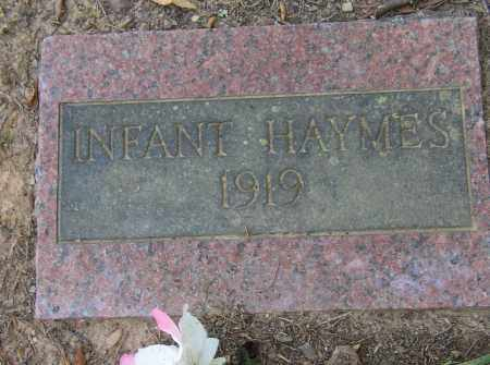 HAYMES, INFANT - Lonoke County, Arkansas | INFANT HAYMES - Arkansas Gravestone Photos