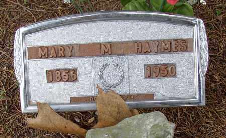 HAYMES, MARY M. - Lonoke County, Arkansas | MARY M. HAYMES - Arkansas Gravestone Photos