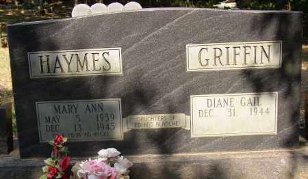 HAYMES, MARY ANN - Lonoke County, Arkansas | MARY ANN HAYMES - Arkansas Gravestone Photos