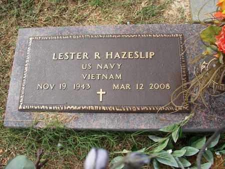 HAZESLIP (VETERAN VIET), LESTER R - Lonoke County, Arkansas | LESTER R HAZESLIP (VETERAN VIET) - Arkansas Gravestone Photos