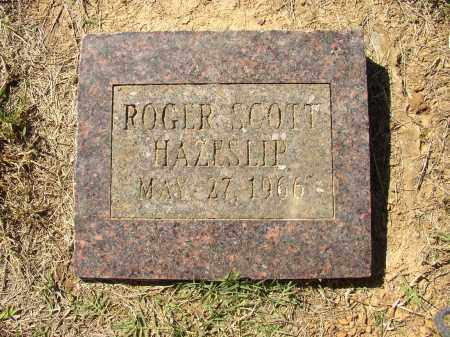 HAZESLIP, ROGER SCOTT - Lonoke County, Arkansas | ROGER SCOTT HAZESLIP - Arkansas Gravestone Photos